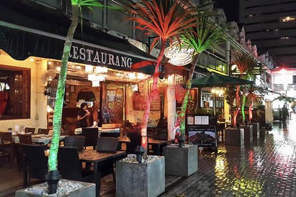 Photo Hôtel et restaurant à louer sur la route principale de Patong Beach