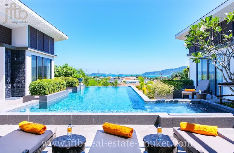 Photo Villas de luxe avec piscine de 3 à 6 chambres à louer à Rawai Phuket avec des prix réduits