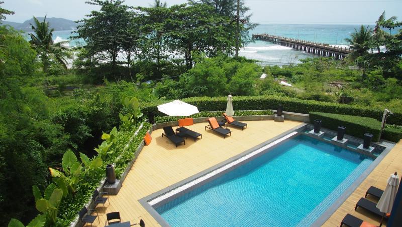 Photo Appartement vue mer avec 2 chambres à louer et à vendre à Kamala, Phuket