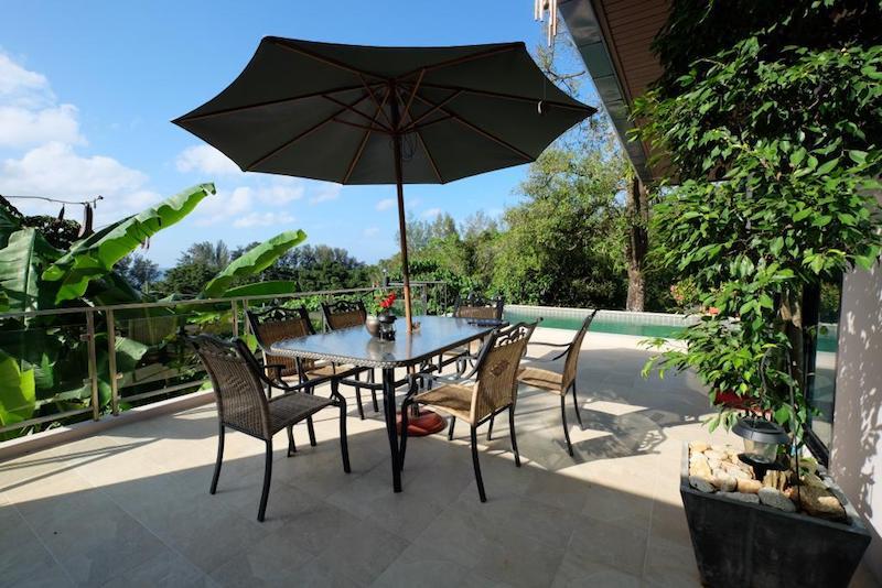 Photo Villa avec vue mer à louer à Kamala, Phuket,