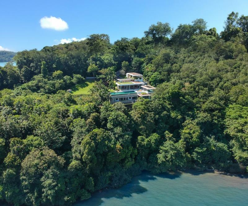 Photo villa de Luxe comprenant 5 chambres a vendre a Panwa à Phuket