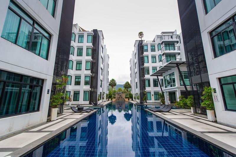 Photo Spacieux appartement moderne de 4 chambres à louer ou à vendre à Kamala Beach, Phuket, Thaïlande