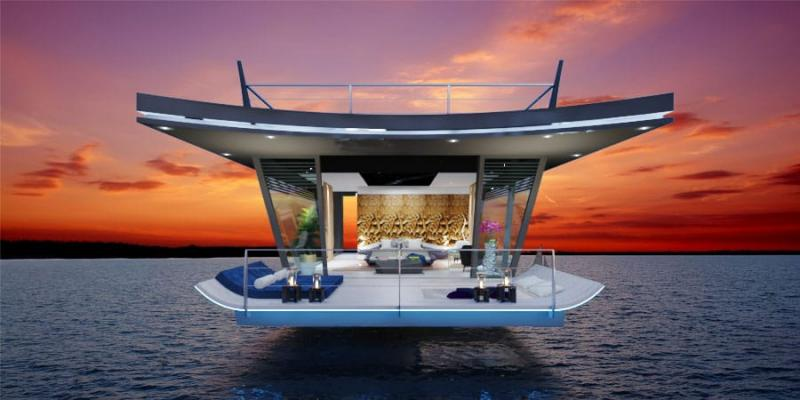 Picture Phuket unique design floating 5-star property