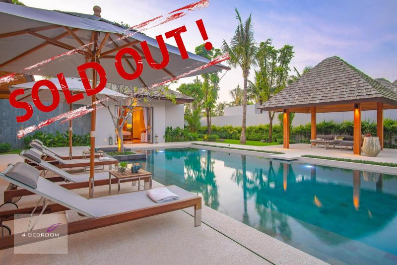 Picture Designed pool villa in modern Balinese style for sale in Cherngtalay