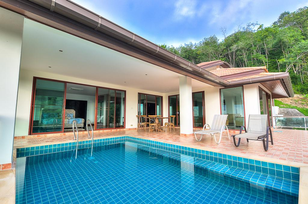 Luxury 5 Bedroom Sea View Pool Villa For Rent In Chalong