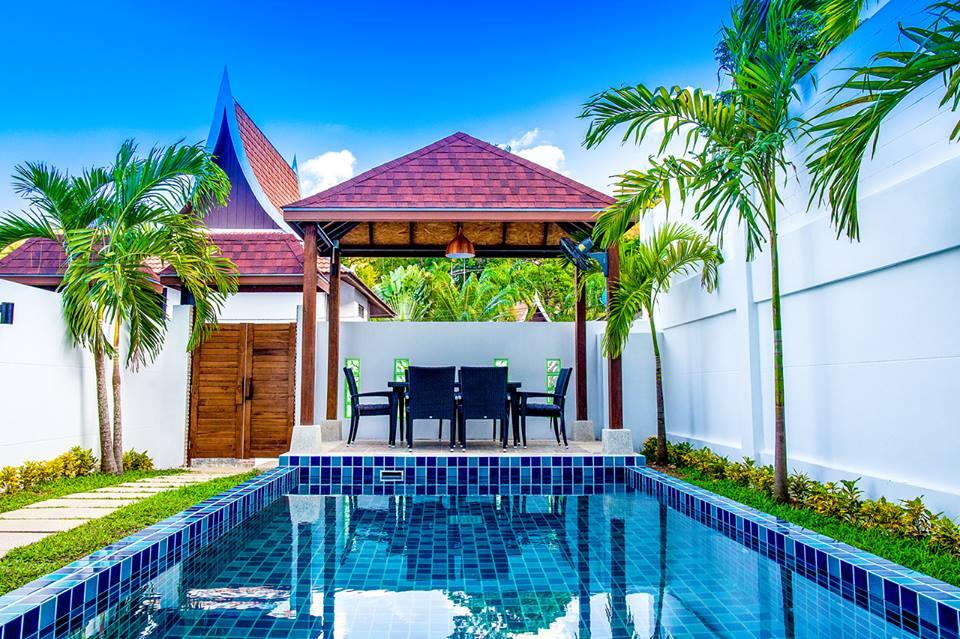 Luxury phuket pool villa for rent in kamala pool villa in kamala phuket for rent for Luxury holiday rentals ireland swimming pool