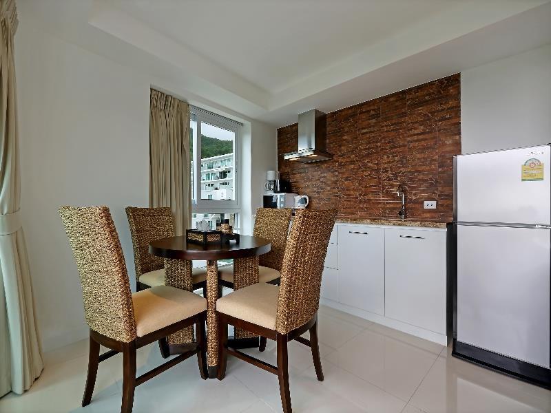 Photo Appartement de 1 chambre avec vue sur la mer à vendre à Kata, Phuket, Thaïlande