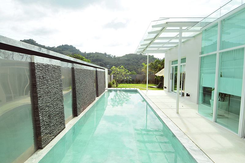 Photo 2 and 3 bedroom infinity pool villas for sale in Kamala, Phuket