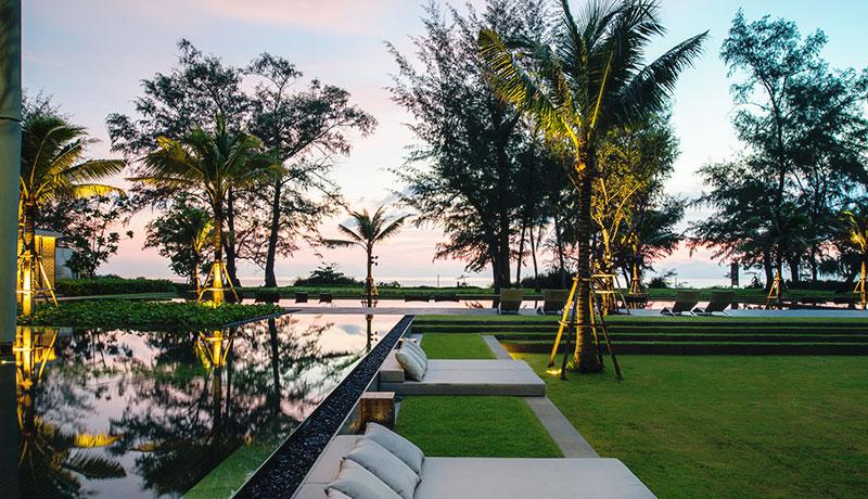 Photo Appartements de luxe en front de mer à vendre à Mai Khao Beach, Phuket