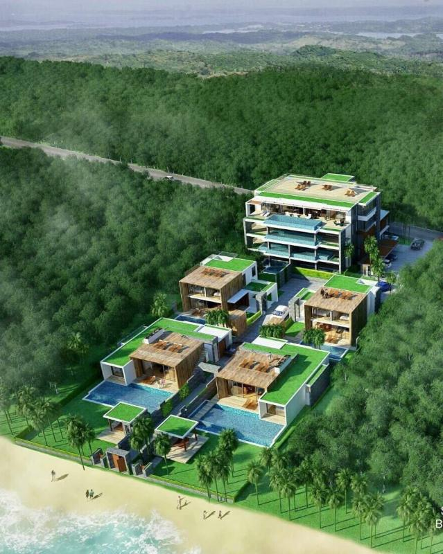 Photo Beachfront land for Sale in Kho Sirey, Phuket, Thailand with Chanote