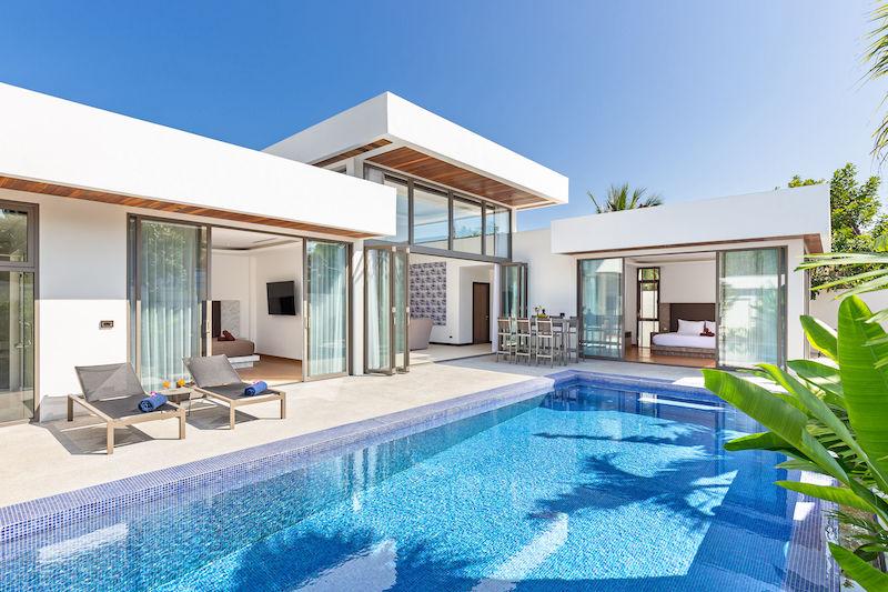 Photo Villa neuve haut de gamme avec piscine à la location longue durée ou à la vente à Rawai