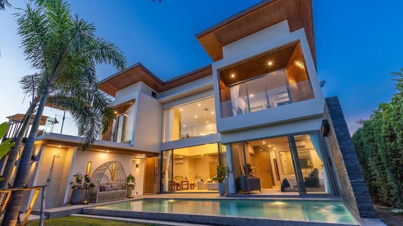 Photo Cherngtalay Brand New 3 bedroom Pool villa for Sale
