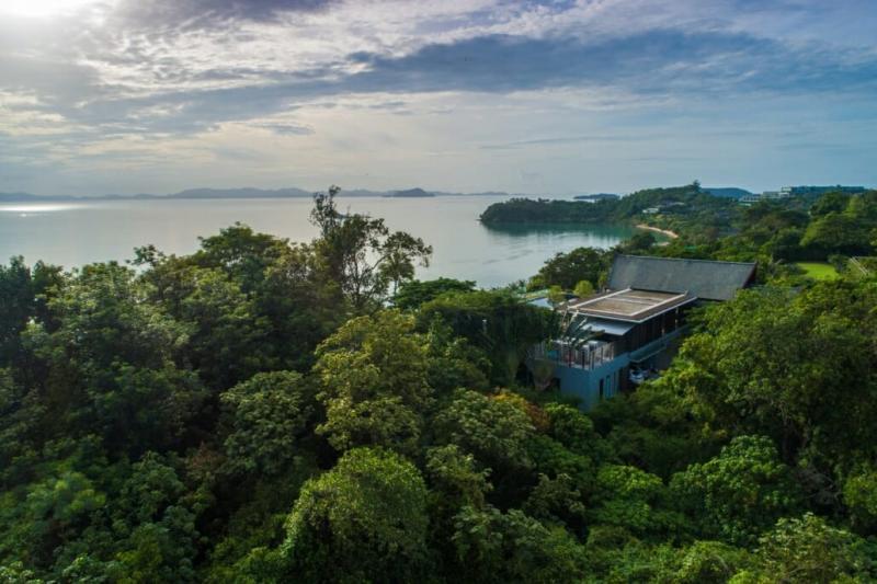 Photo Villa de luxe en front de plage de 10 chambres à vendre à Cape Yamu, Phuket