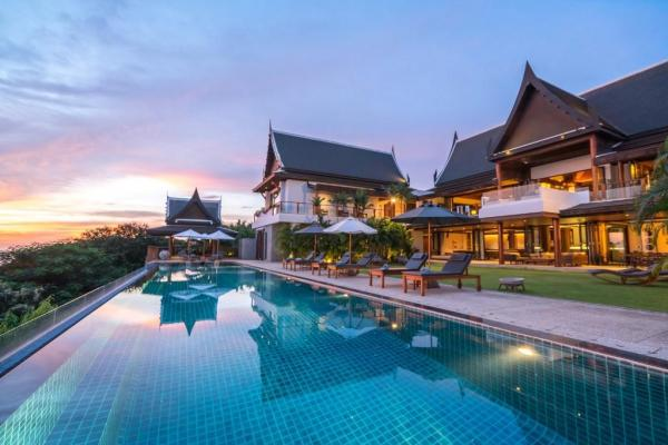 Photo  8 bedroom Phuket luxury villa for rent in Kamala, Thailand