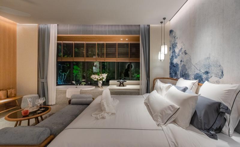 Photo Condominiums de luxe entièrement meublés à vendre à Kamala, Phuket Thaïlande