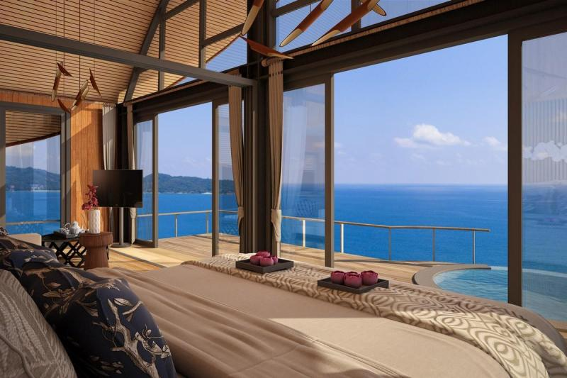Photo Innovative home's design with this 1 bedroom Cottage with Sea View for sale in Patong, Phuket