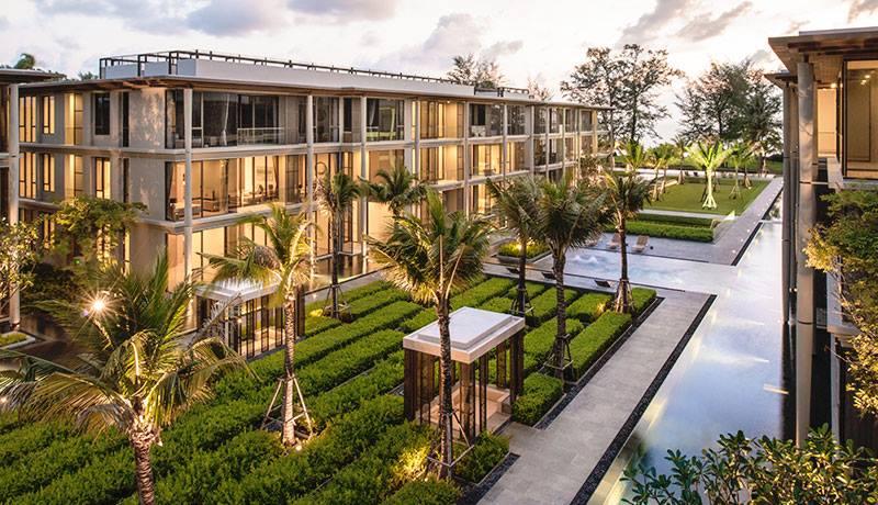 Photo Appartement de luxe avec 2 chambres à coucher en front de mer à vendre et à louer à Mai Khao Beach, Phuket