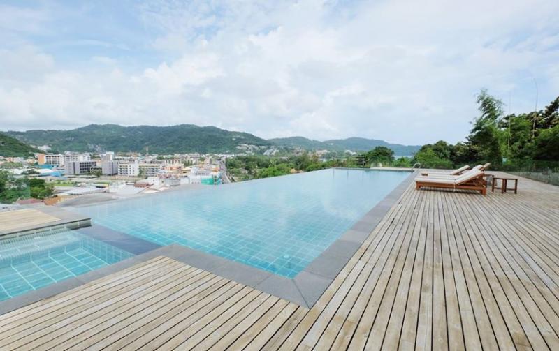 Photo Luxury 2 bedroom sea view apartment for sale in Kata, Phuket, Thailand