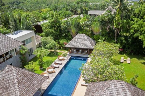Photo Phuket luxury 5 bedroom villa for rent in Layan - Thailand