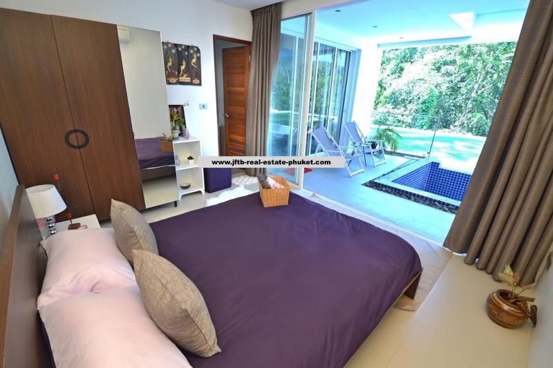 Photo Luxury pool villa Phuket for sale in Kamala