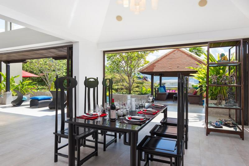 Photo Luxury Sea View 4 Bedroom Pool Villa for sale in Kalim (Patong area)