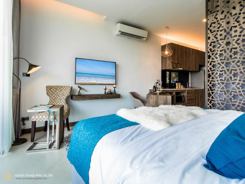 Photo Luxury Sea View Studio for Sale at The Peaks Residence in Kata, Phuket