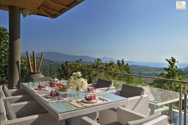 Photo Luxury sea view villa for holiday and long term  rental in Phuket, Layan