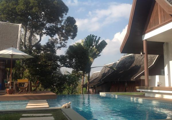 Photo Luxury villa for rent near the Sarasin bridge, Phuket
