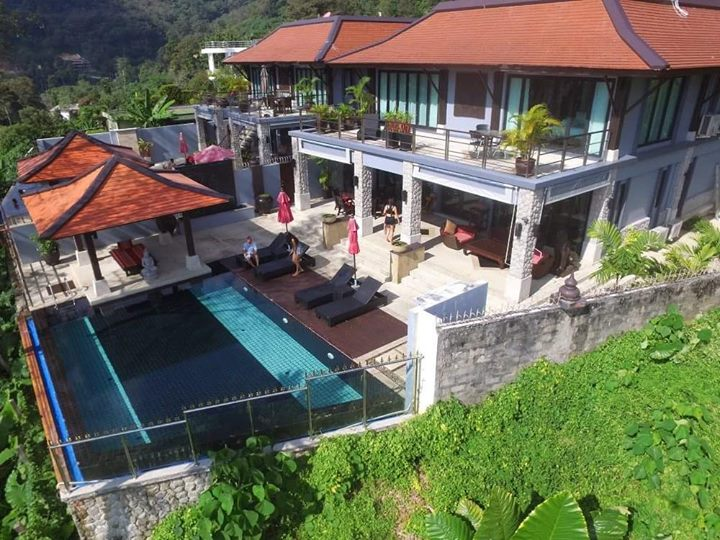 Photo Patong 4 Bed Sea View Pool Villa for Holiday Rentals in Kalim