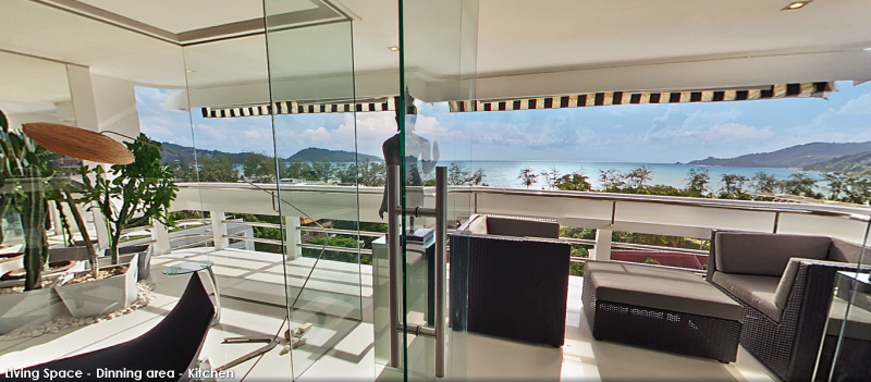 Photo Exclusive Patong Full Sea View Apartment For Sale in Phuket