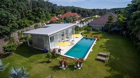 Photo Phuket luxury 4 bedroom pool villa in Paklok for rent or for sale