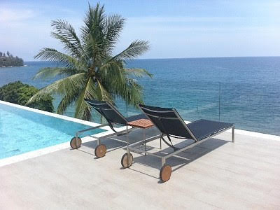 Photo Phuket superb beachfront luxury villa for rent in Kamala, Phuket, Thailand
