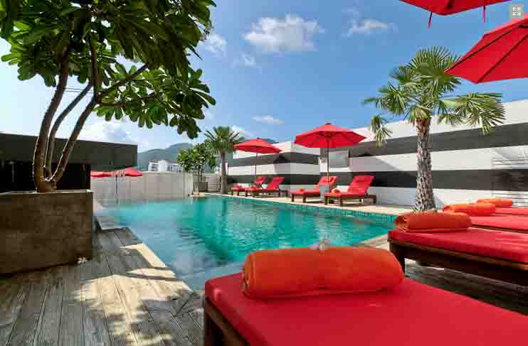 Photo Phuket Pool Hotel for Lease in Patong Prime Location
