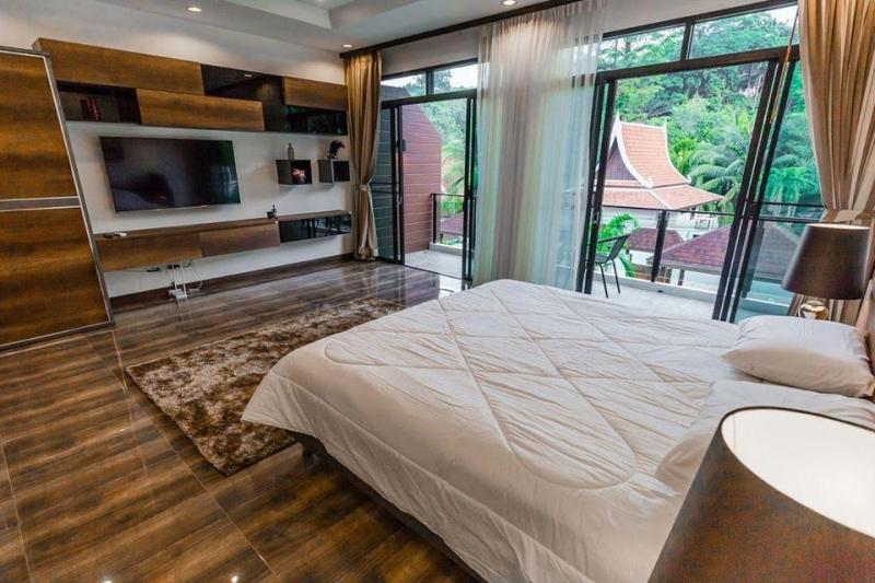 Photo Thailand-Phuket-3 bedroom luxury pool villa for rent in Kamala